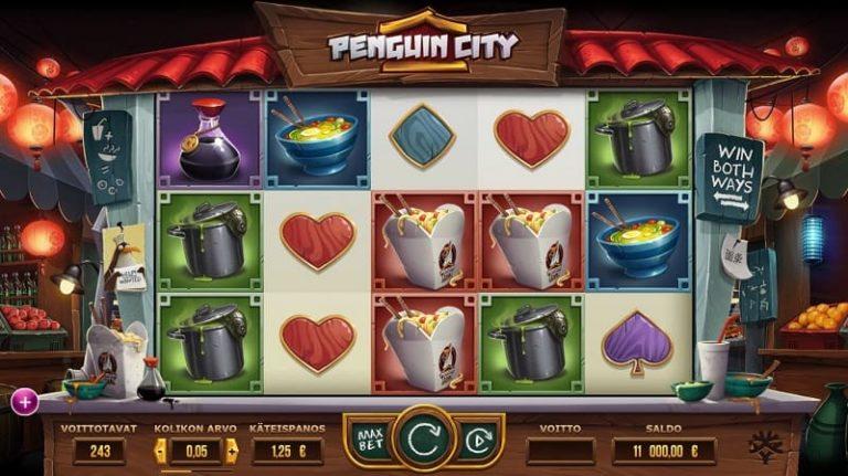 Penguin City -kolikkopeli