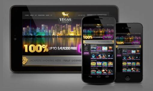 Vegas Paradise mobiilikasino