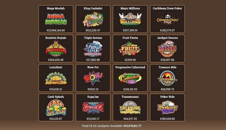 Yukon Gold Casino pelivalikoima