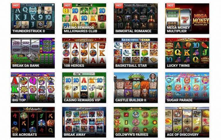 Quatro Casino pelivalikoima