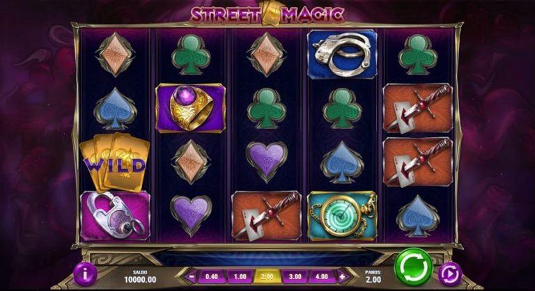 Street Magic -kolikkopeli