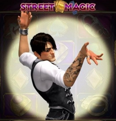Taikurin temput Street Magic -slotti