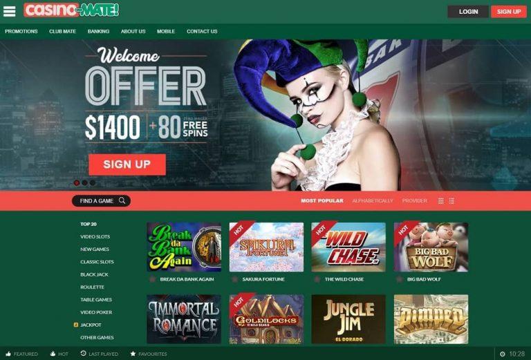 Casino Mate nettikasino