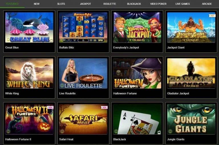Casino Tropezilla on loistava pelivalikoima.