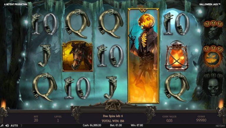 Halloween Jack -pelin ilmaiskierrostila