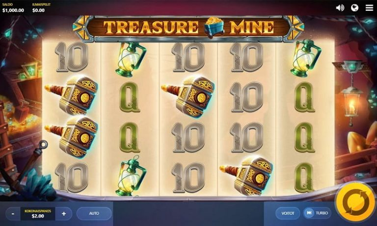 Treasure Mine -kolikkopeli