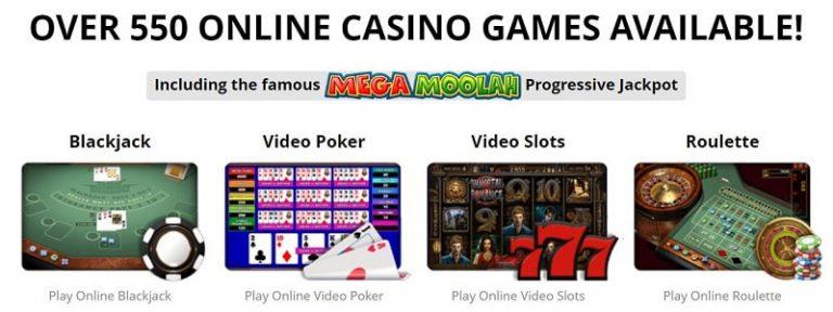 Zodiac Casinon pelivalikoima