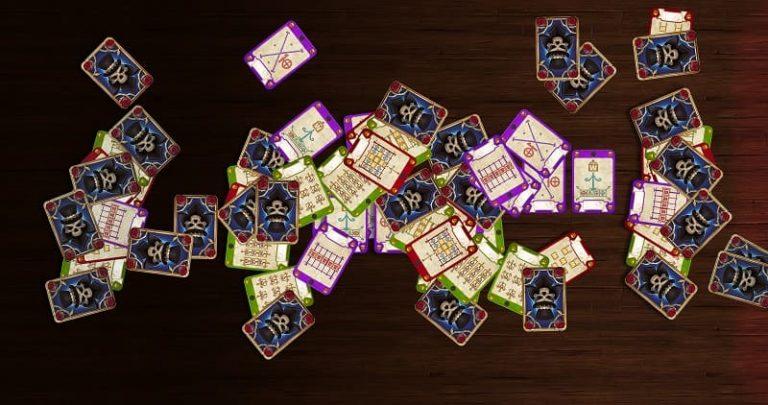 Baron Samedi pelissä on paljon kortteja