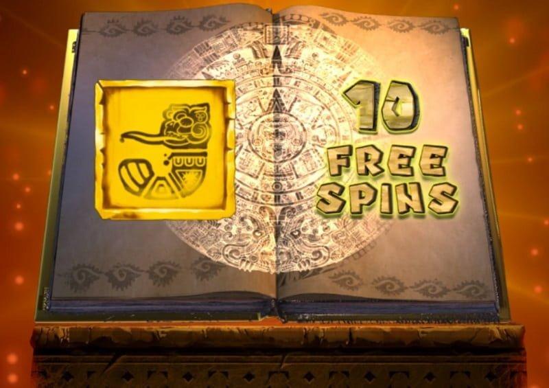 Book of Souls ilmaiskierrokset bonussymboli