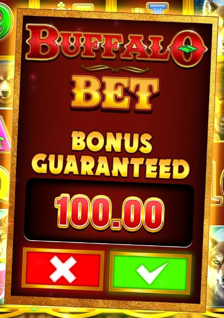 Buffalo Rising bonus bet