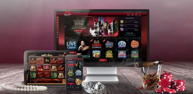 Cabaret Club Casino toimii useilla eri laitteilla.