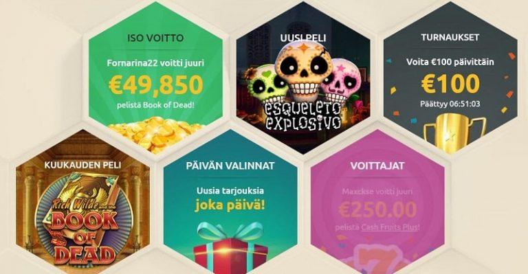 DrueckGlueck Casinon tarjonta