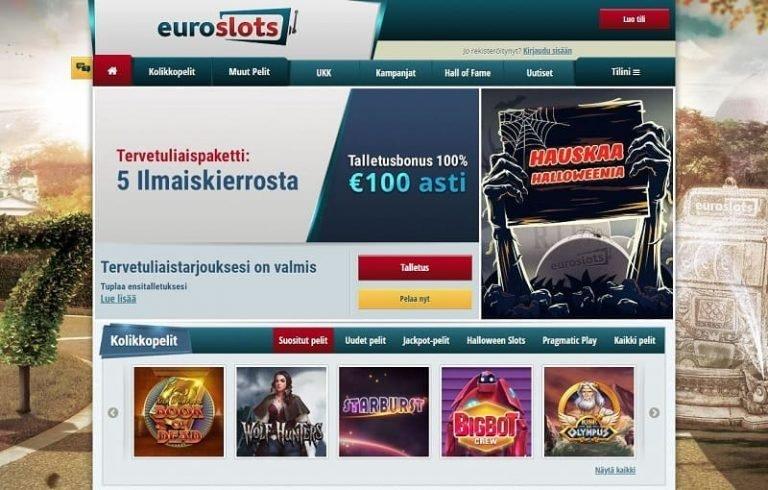 EuroSlots-nettikasino