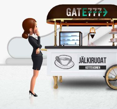 Gate777 tarjoaa palveluita kuin parhaat lentokentät!