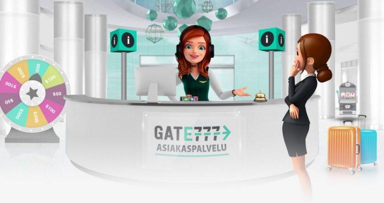 Gate777 Casinon asiakastuki palvelee 24/7