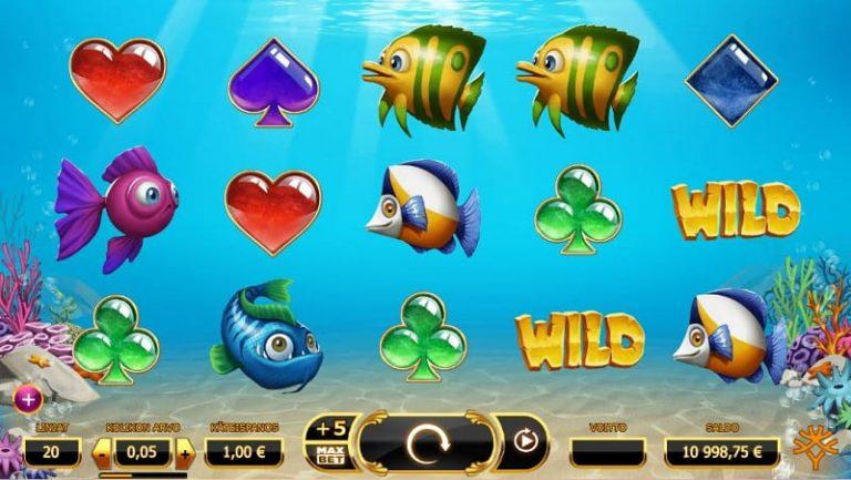 Golden Fishtank -kolikkopeli