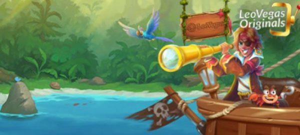 Risteile Karibialle LeoVegasin piraattien kanssa!