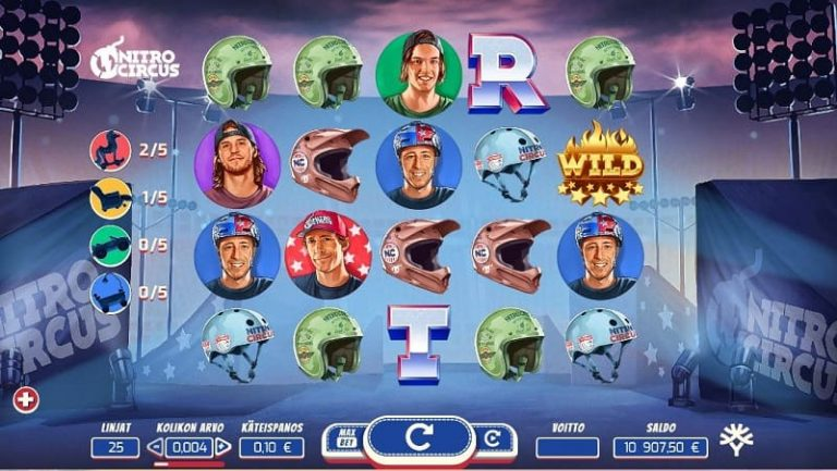 Nitro Circus -kolikkopeli