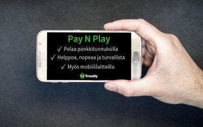 Pay N Play -kasinoilla pelataan pankkitunnuksilla.