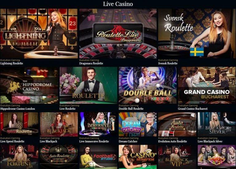 Premier Live Casinon livekasino