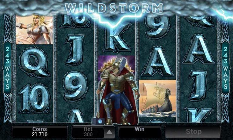 Thunderstruck II -slotin WildStorm-toiminto