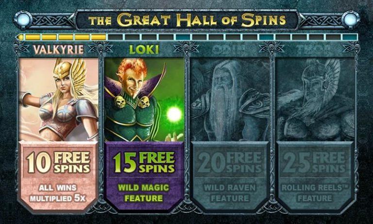 Thunderstruck II -pelin ilmaiskierrokset