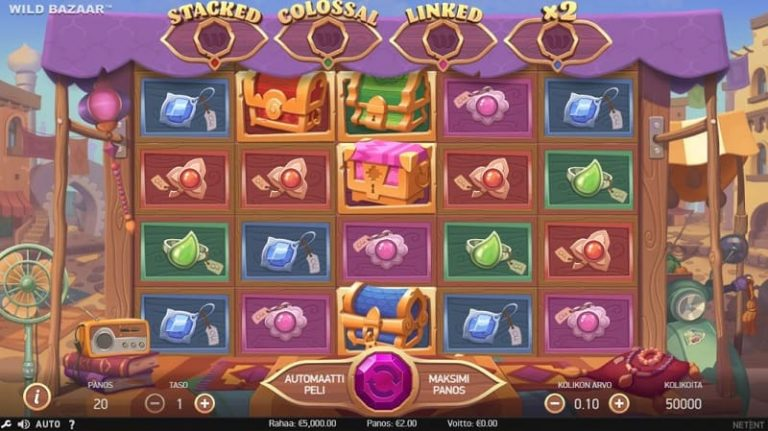 Wild Bazaar -kolikkopeli