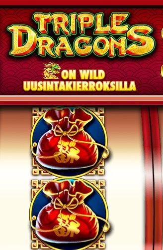 triple dragons peliominaisuus