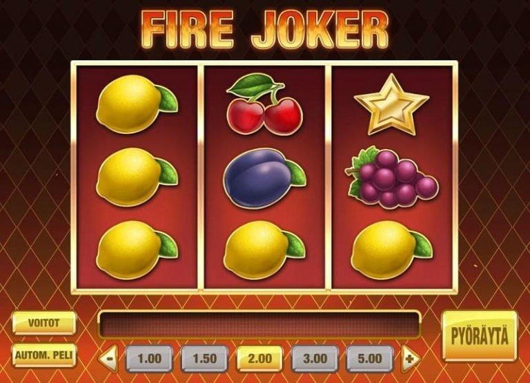 Fire Joker slotti