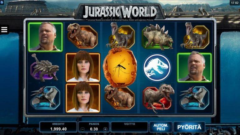 Jurassic World -kolikkopeli