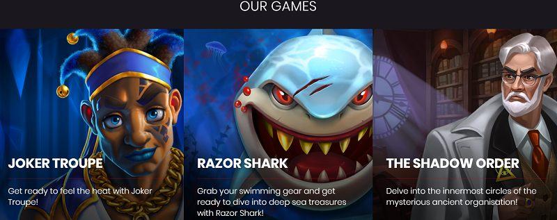 push gaming pelinvalmistaja pelejä