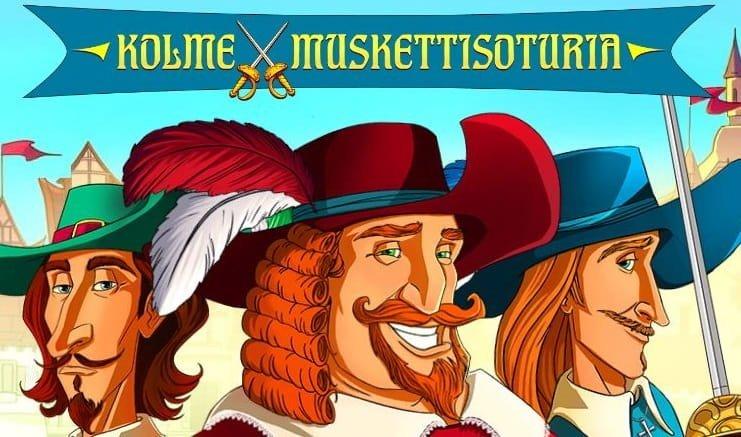 Three Musketeers -kolikkopeli