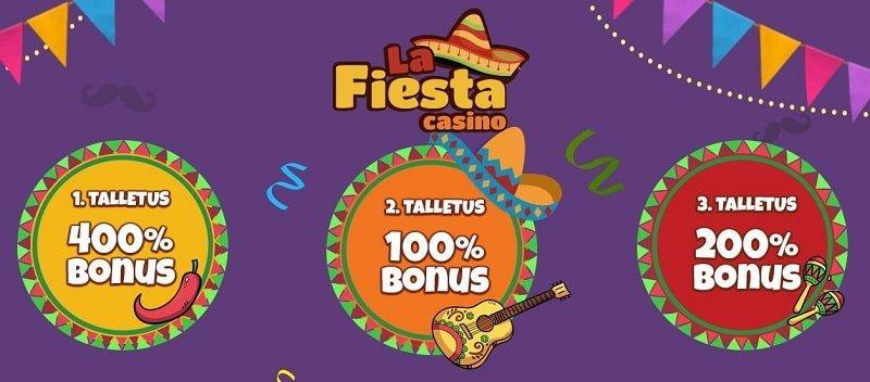la fiesta casino bonus code 2019