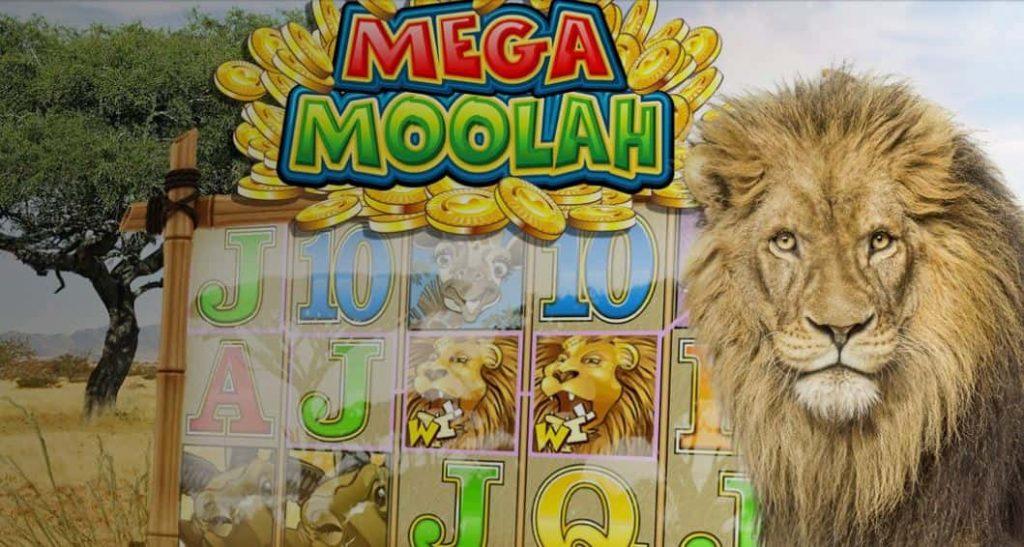 Mega Moolah sisältää valtavan jackpotin