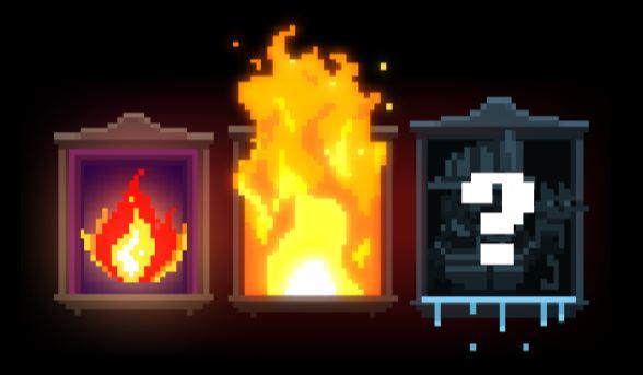Roasty Flame Busters mysteerisymboli