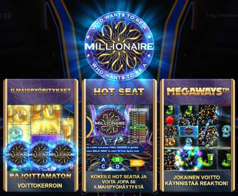Who Wants to Be a Millionaire toiminnot