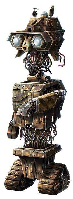 Wild-O-Tron 3000 robotti