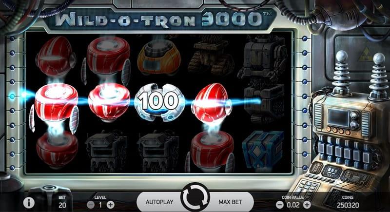 Wild-O-Tron 3000 slotti