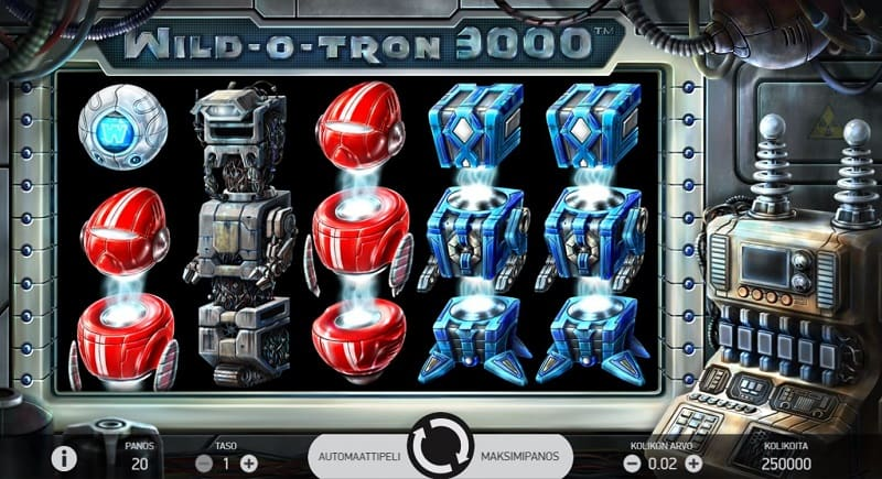 Wild-o-Tron 3000 -kolikkopeli