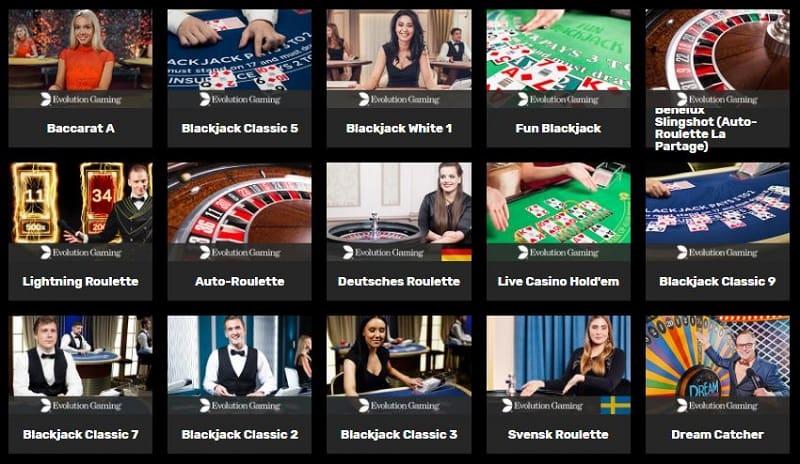 Hyper Casinon livekasino