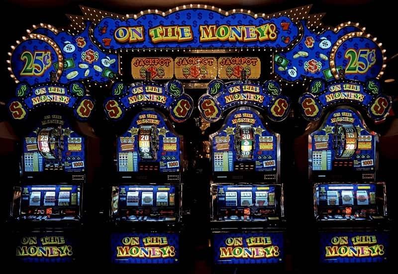 Jackpot-kolikkopelejä