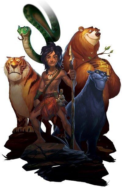 Jungle Books -pelin hahmot