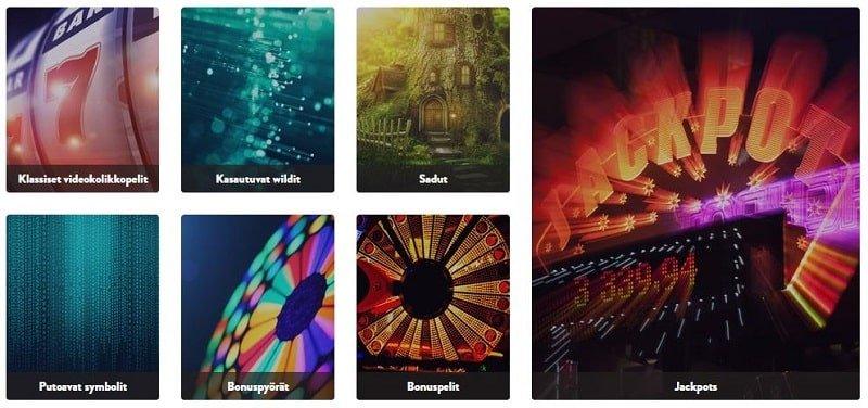 Kolikkopelien kategorioita Dunder Casinolla