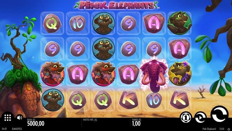 Pink Elephants -slotti