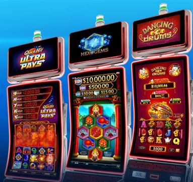 SG Gaming valmistaa pelikoneita