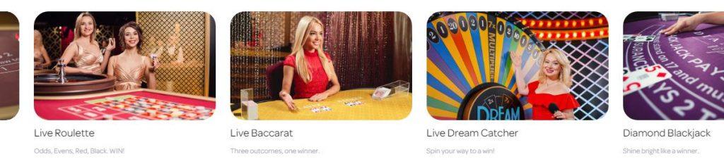 Spin Casino livekasino