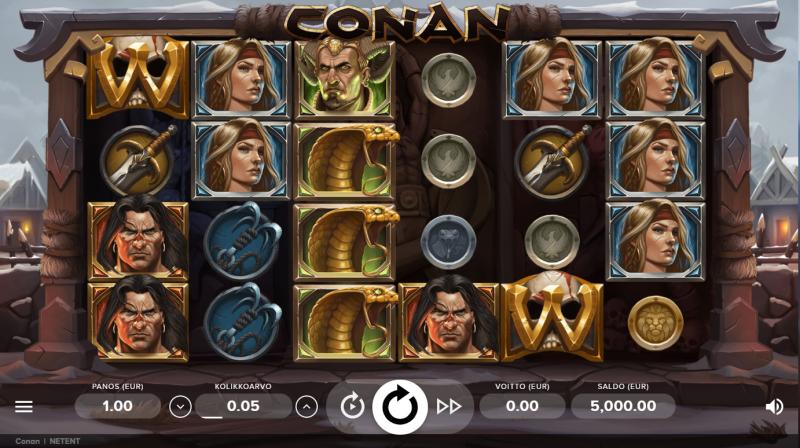 conan_kolikkopeli