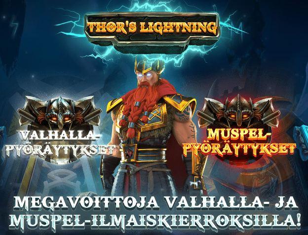 thor's lightning bonusominaisuudet