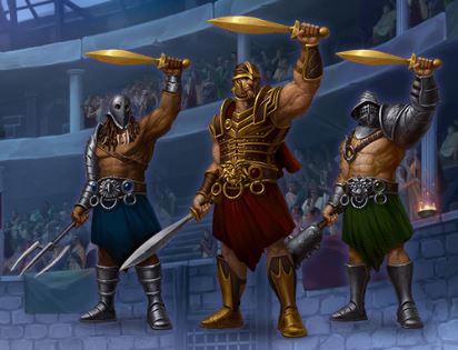 Champions of Rome gladiaattorit