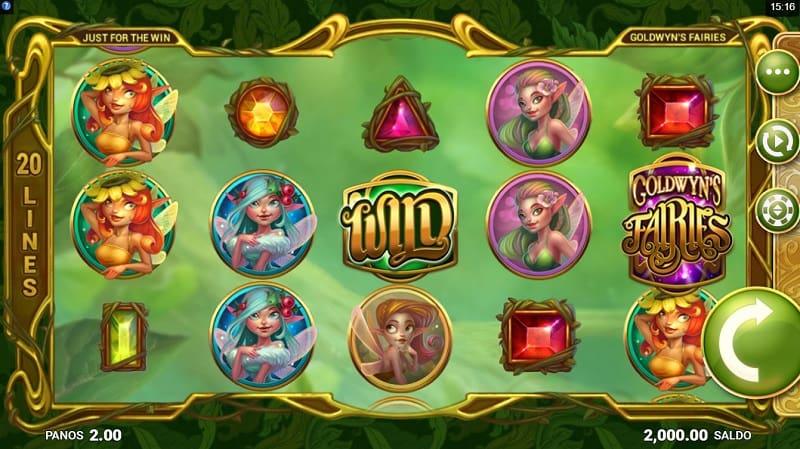 Goldwyn's Fairies -kolikkopeli